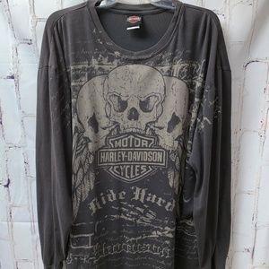 Harley_Davidson Waco Texas Longsleeve T-Shirt XXL